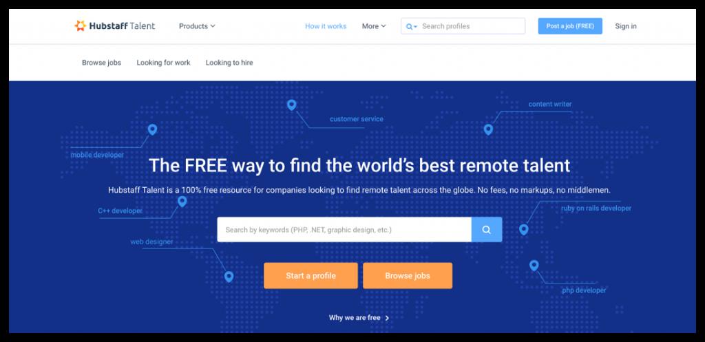 use Hubstaff to hire freelance talents