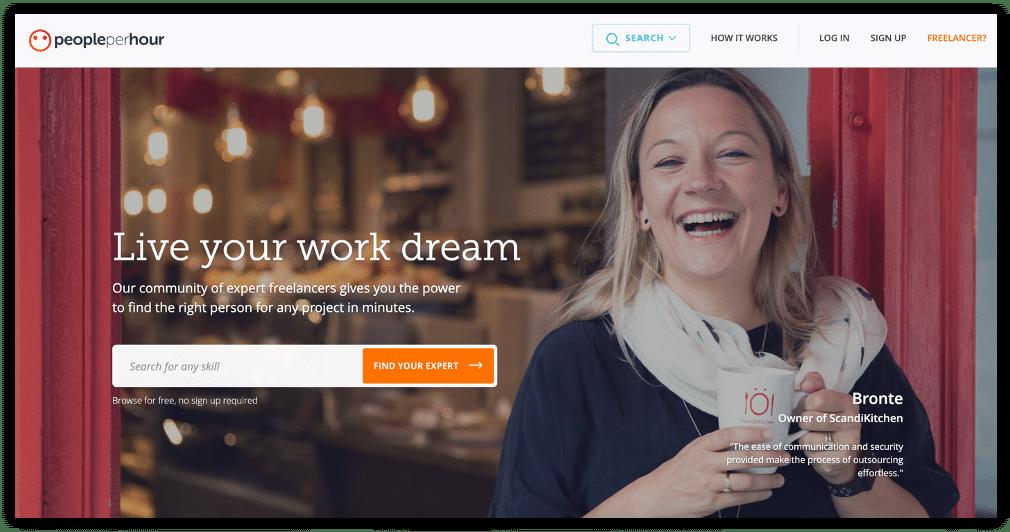 PeoplePerHouris the best freelance website