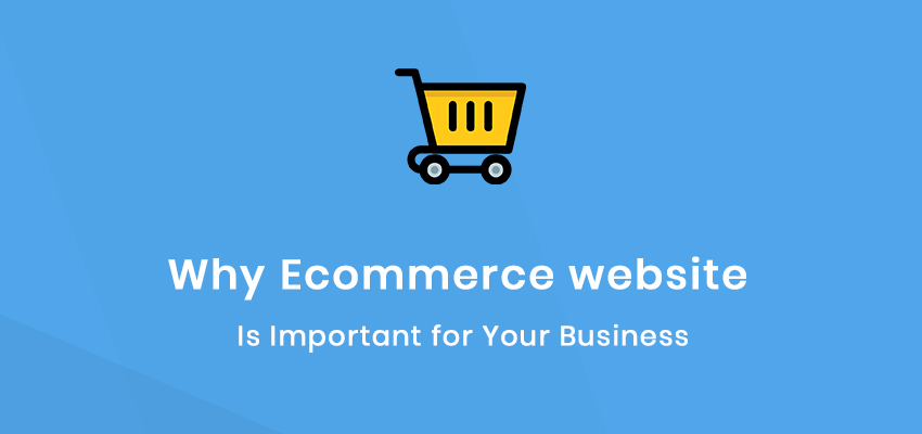 why eCommerce website is important