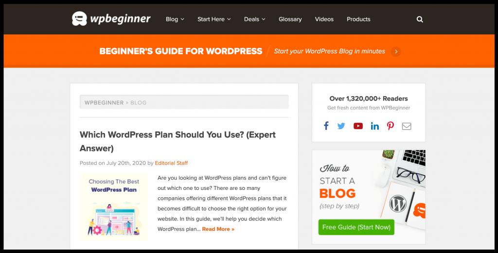 list of best WordPress blogs