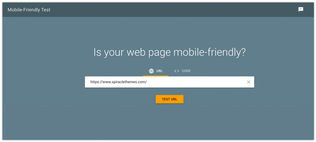 free mobile-friendly tool from google