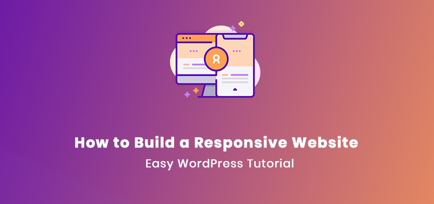 how to build a responsive website on WordPress