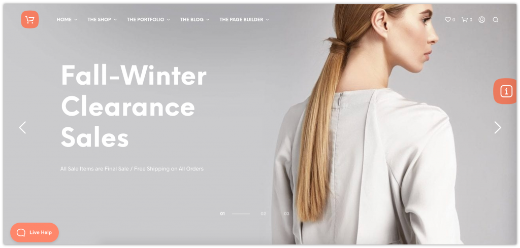 WordPress eCommerce Themes (Best 5) for Your Online Store 3
