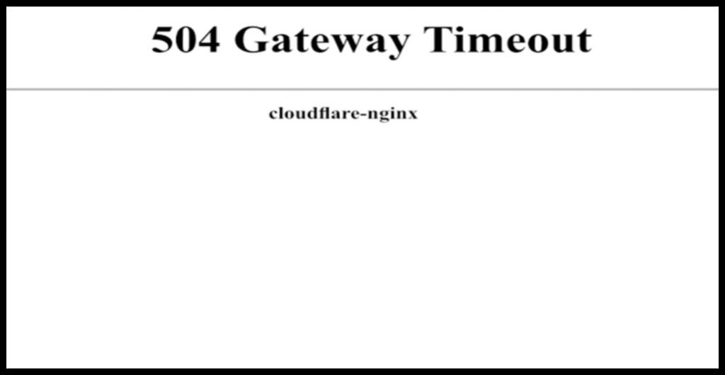 504 Gateway Timeout Error – How to Fix This WordPress Error 1