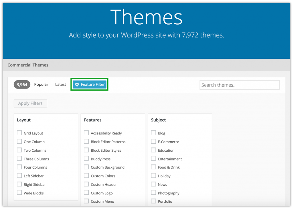 How to Choose a WordPress Theme for Your Website 1