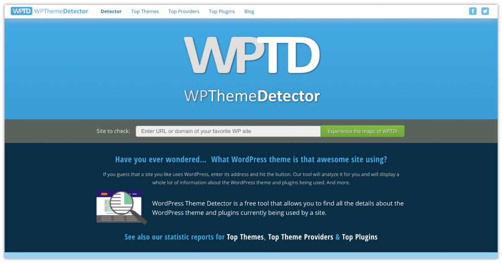 WordPress Theme Detector – Know What Theme a Site is Using 3