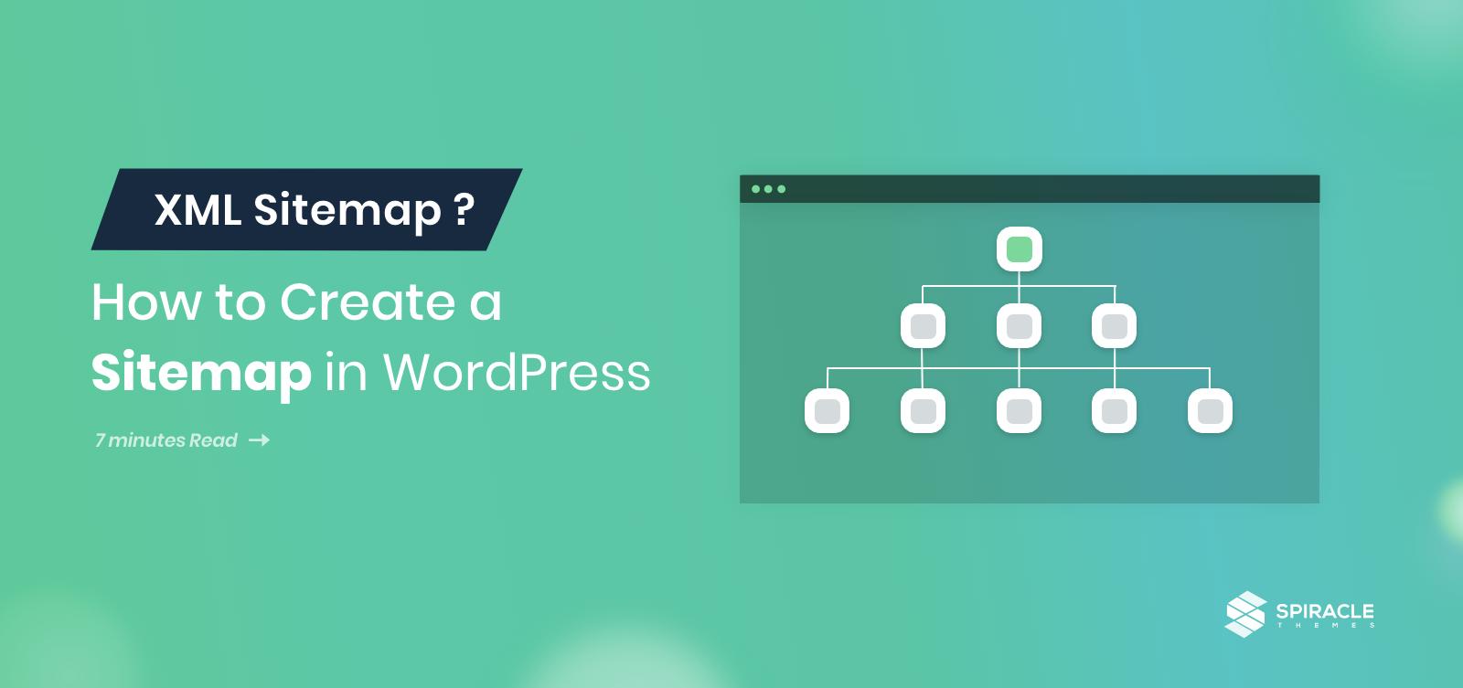 how to create XML sitemap in WordPress