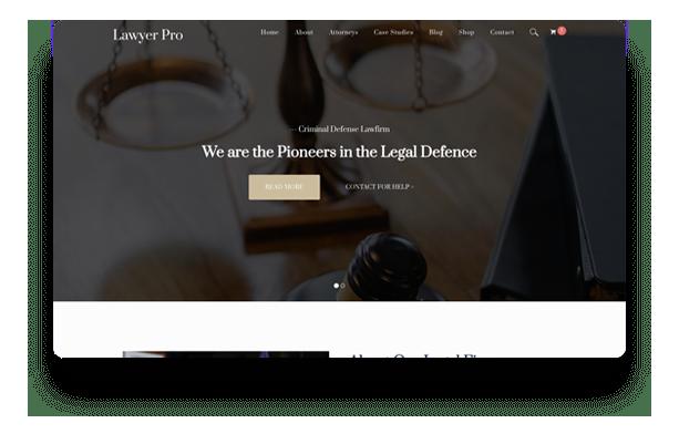 Colon Free WordPress Theme 4