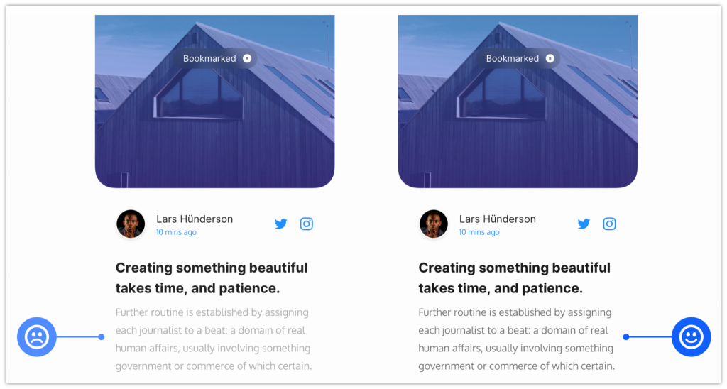 UX Design Tips –Infuse Content Wisely