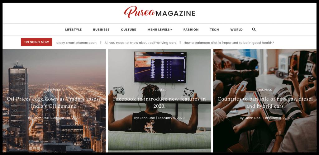 purea-magazine-wordpress-theme