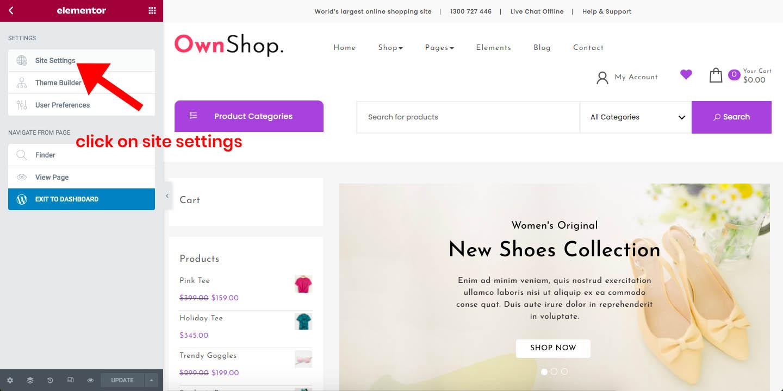 Own Shop Documentation 48