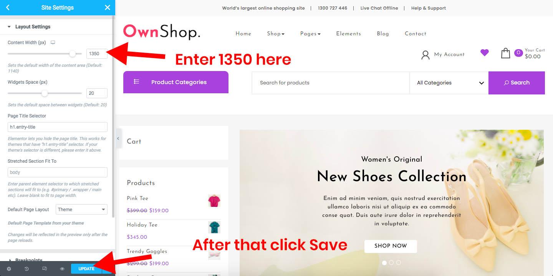 Own Shop Documentation 50