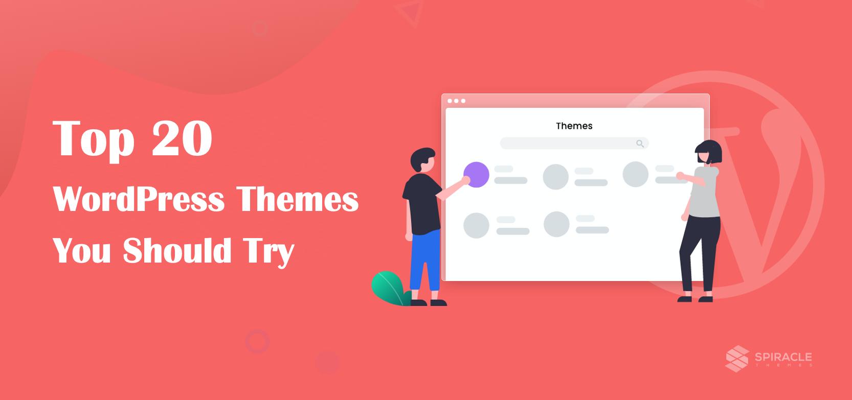 top 20 best WordPress themes