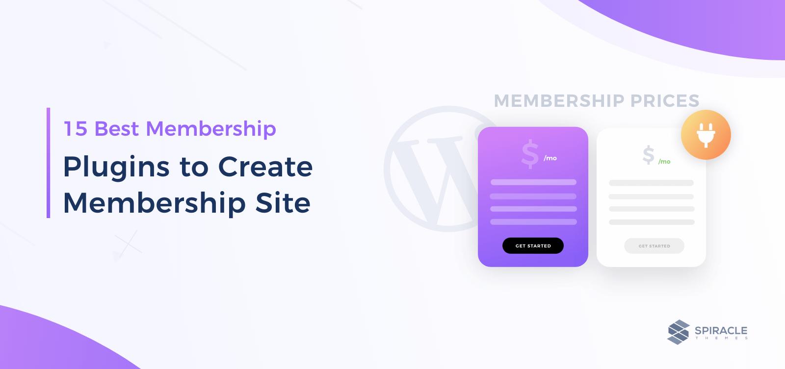 15 Best Membership Plugins
