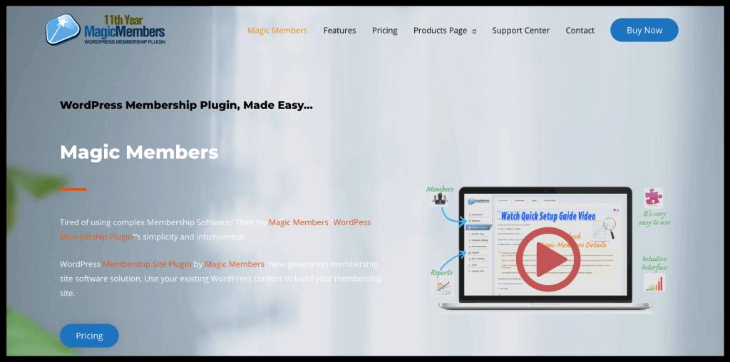 MagicMembers WordPress Plugin
