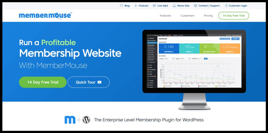 MemberMouse WordPress Plugin