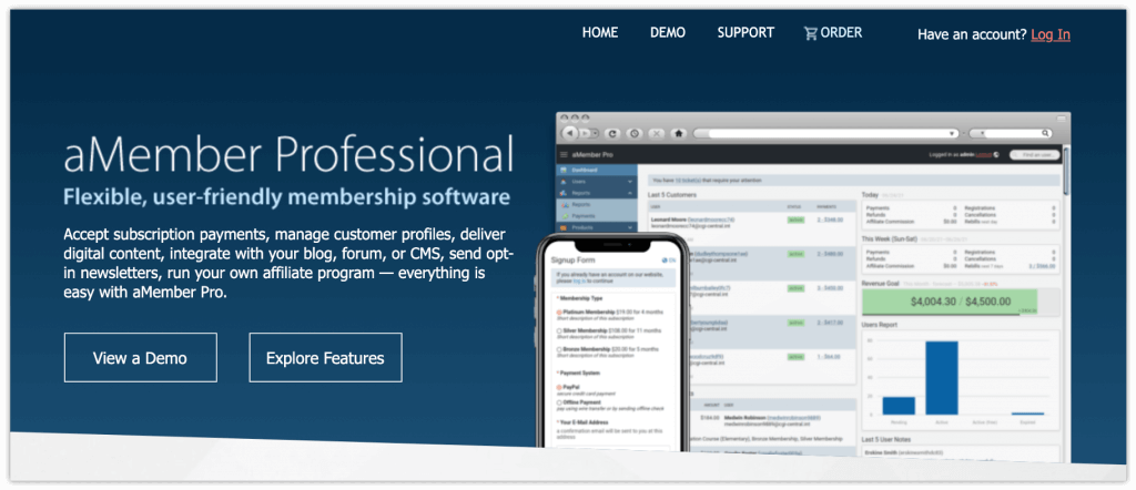 aMember WordPress Plugin