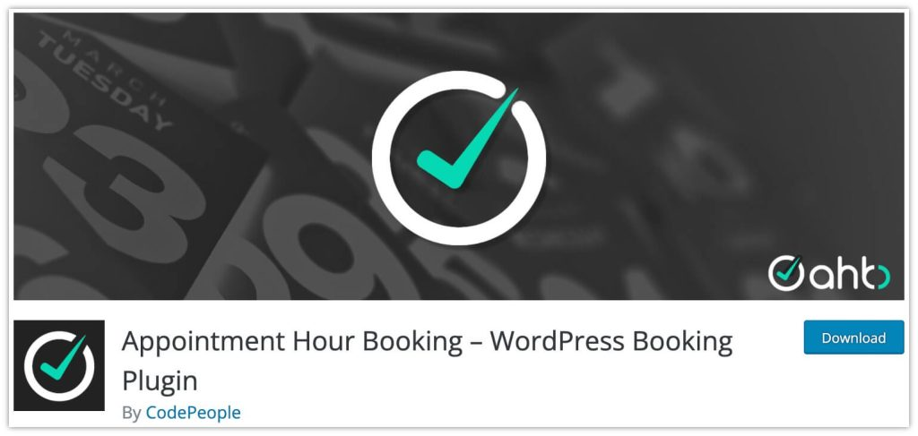 Appointment Hour Booking – WordPress Booking Plugin by CodePeople