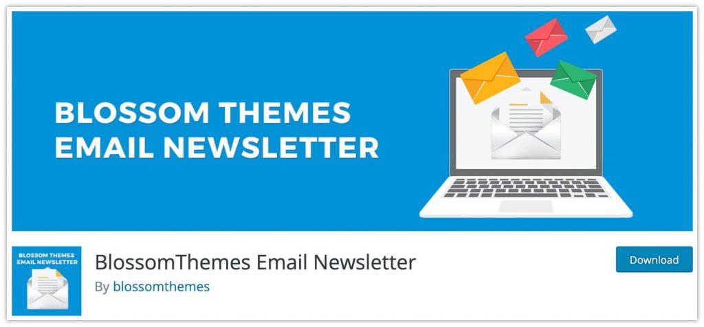BlossomThemes Email Newsletter plugin