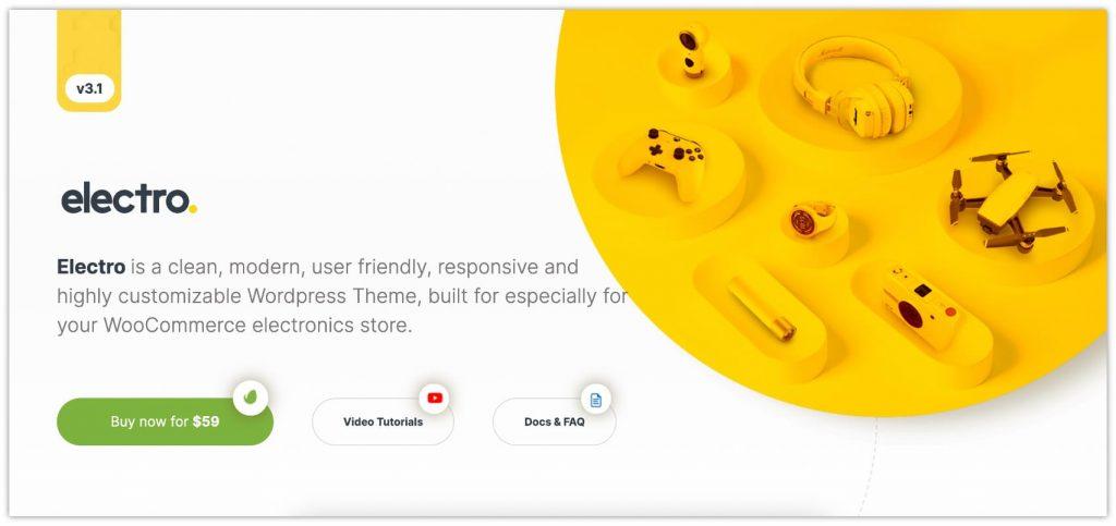Electro WooCommerce Theme by MadrasThemes