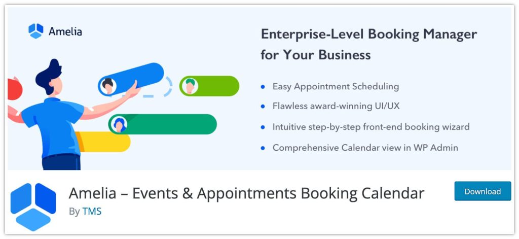 Events and Appointments Booking Calendar by Amelia