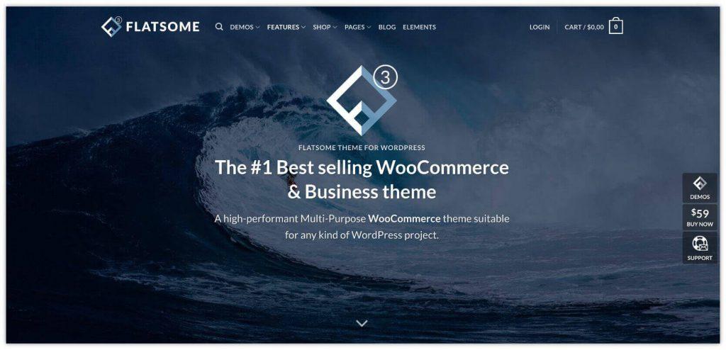 Flatsome WordPress WooCommerce Theme