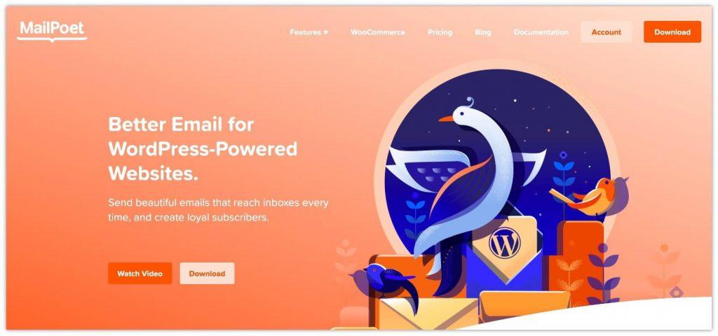 Mailpoet Plugin
