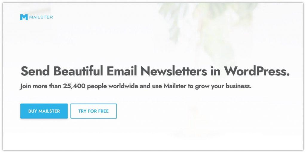 Mailster Plugin by EverPress