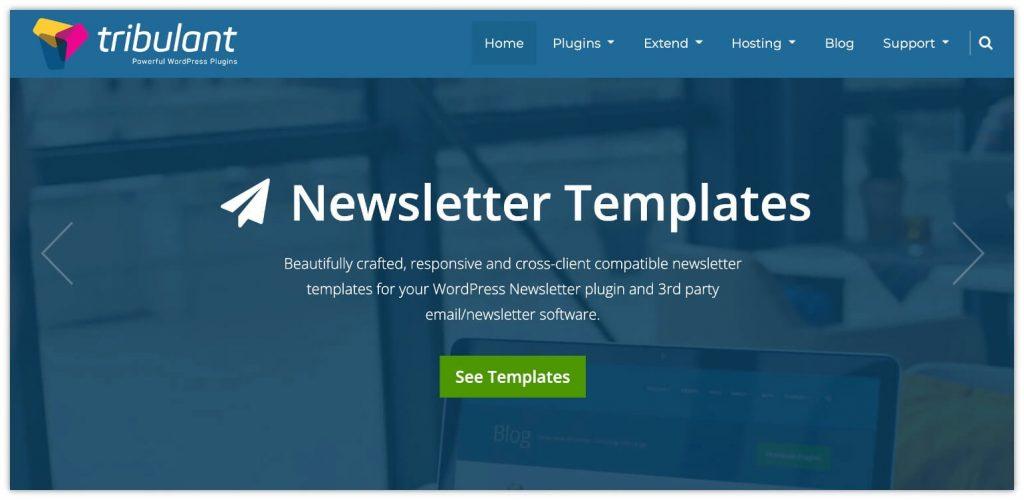 Newsletters plugin by Tribulant