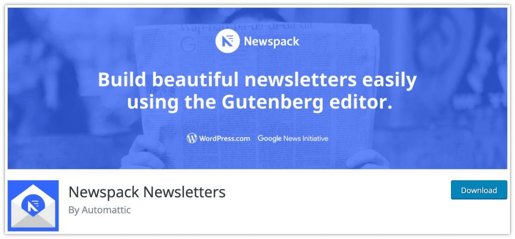 Newspack Newsletters Plugin by Automattic