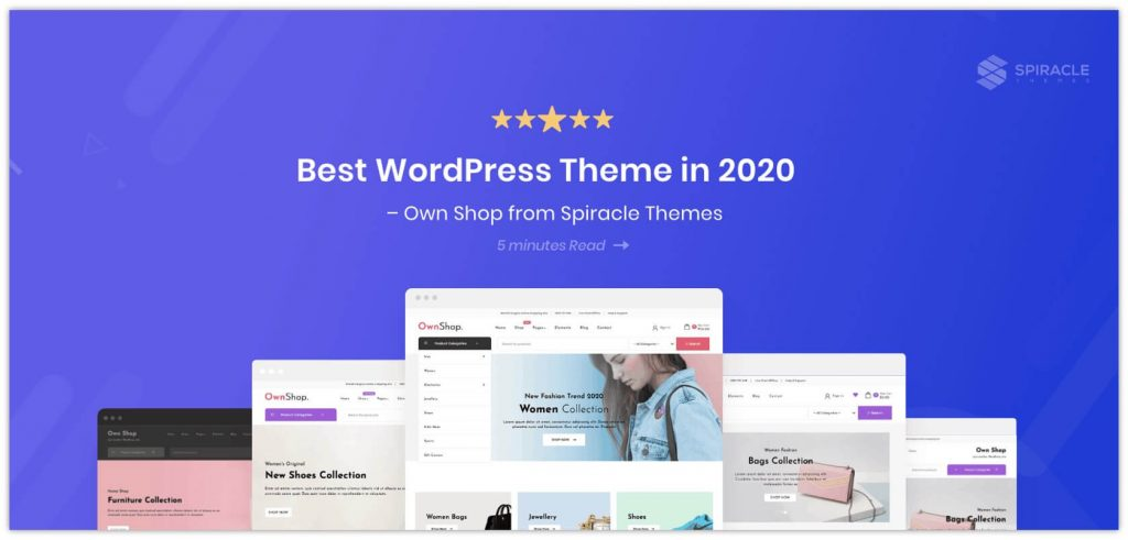 OwnShop WooCommerce Theme by Spiracle Themes