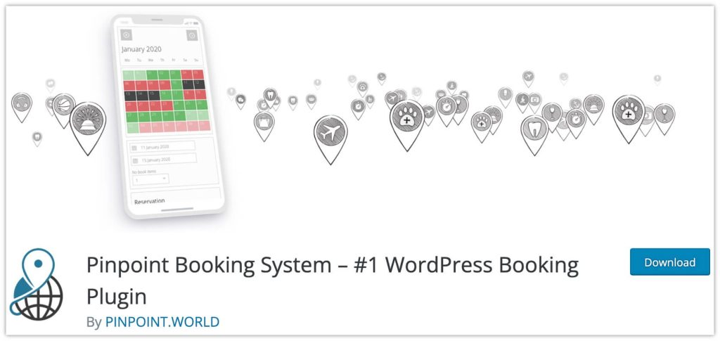 Pinpoint Booking System Plugin