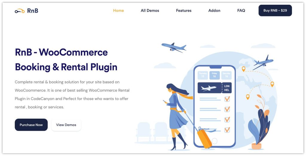 RnB – WooCommerce Booking & Rental Plugin