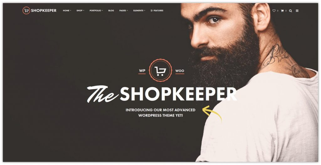 Shopkeeper WooCommerce Theme by getbowtied