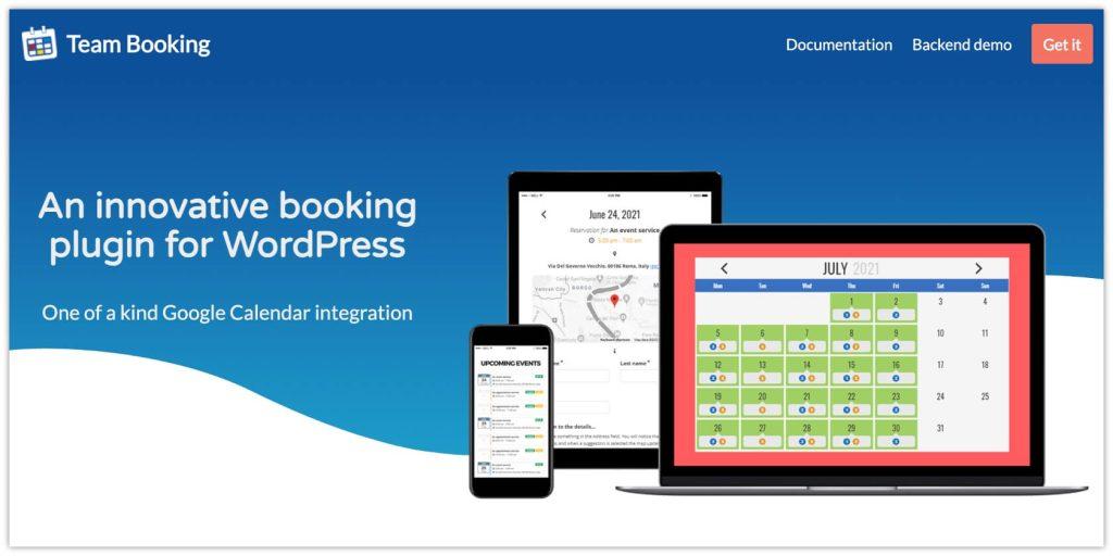 Team Booking Plugin – WordPress Booking System