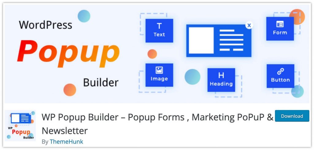 WP Popup Builder by ThemeHunk