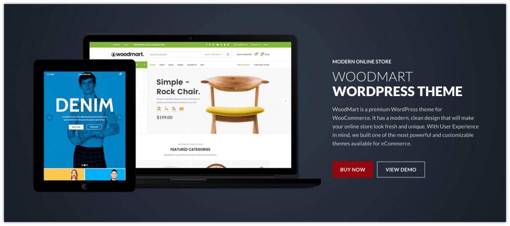 Woodmart WooCommerce Theme by xtemos