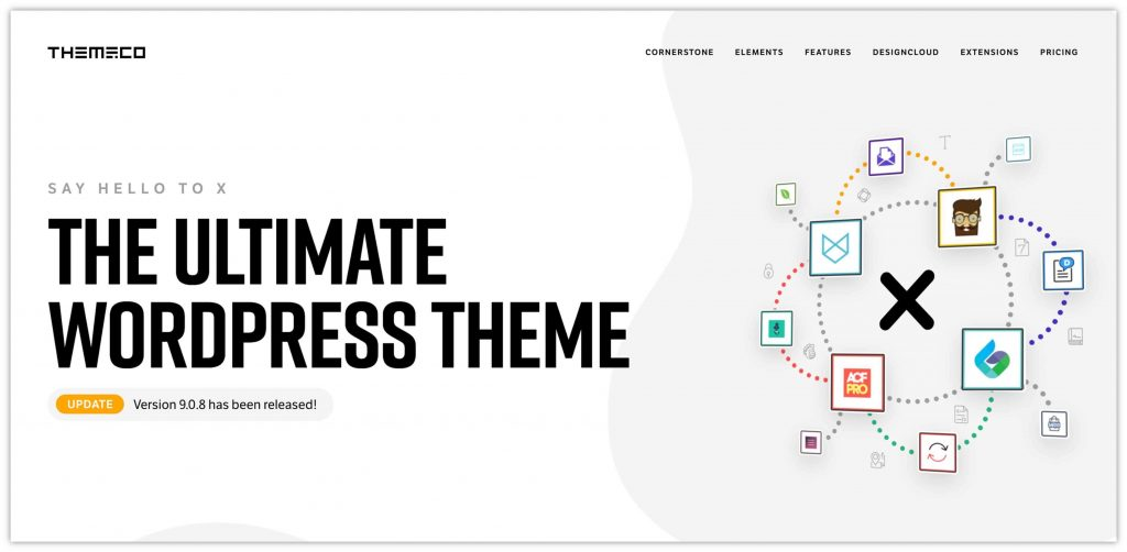 X WooCommerce Theme by Themeco