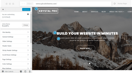 krystalpro-more-customizer